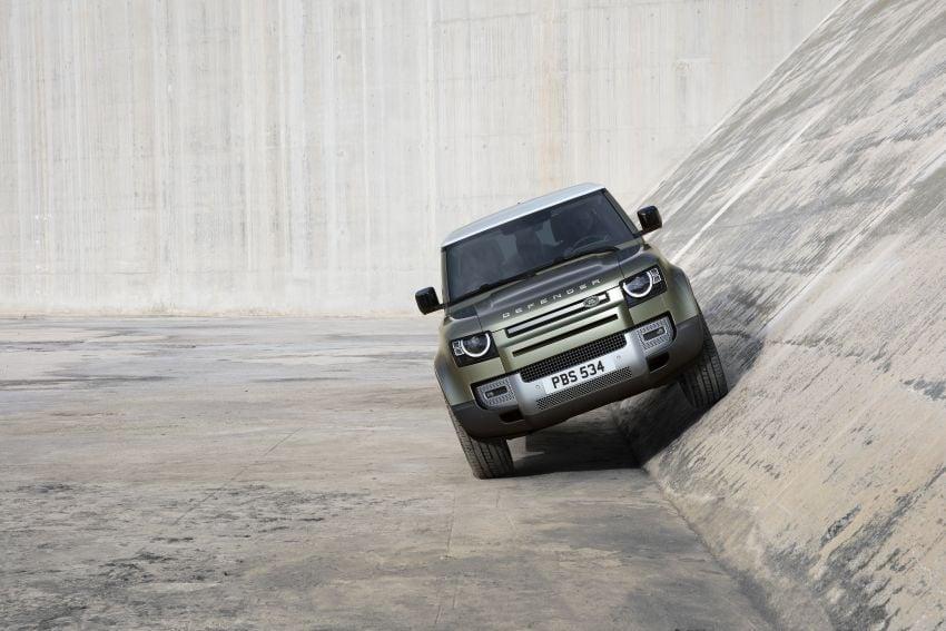 Land Rover Defender generasi baharu  muncul di Frankfurt 2019 – padat dengan segala teknologi terkini Image #1013526