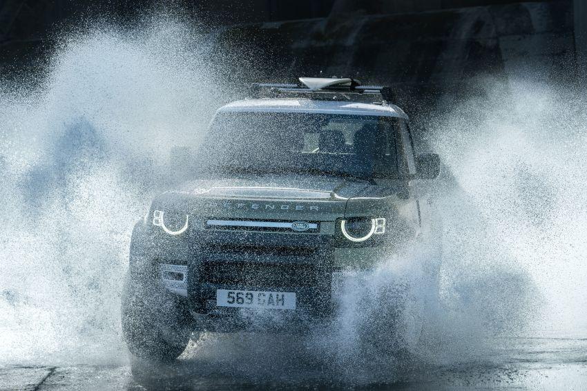 2020 Land Rover Defender debuts – aluminium monocoque, 3.0L mild-hybrid, OTA software support Image #1013237