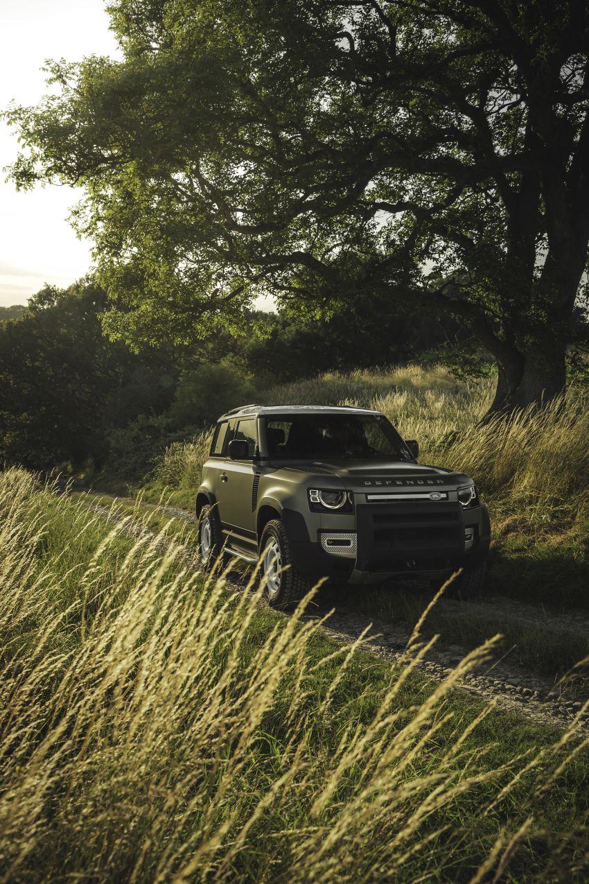 2020 Land Rover Defender debuts – aluminium monocoque, 3.0L mild-hybrid, OTA software support Image #1013240