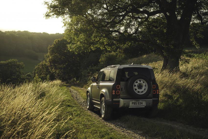 2020 Land Rover Defender debuts – aluminium monocoque, 3.0L mild-hybrid, OTA software support Image #1013241