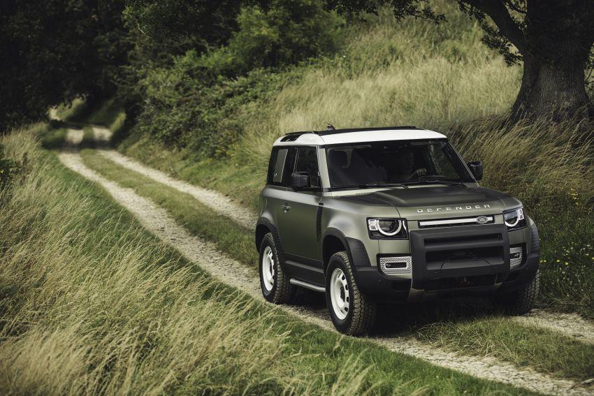 2020 Land Rover Defender debuts – aluminium monocoque, 3.0L mild-hybrid, OTA software support Image #1013243