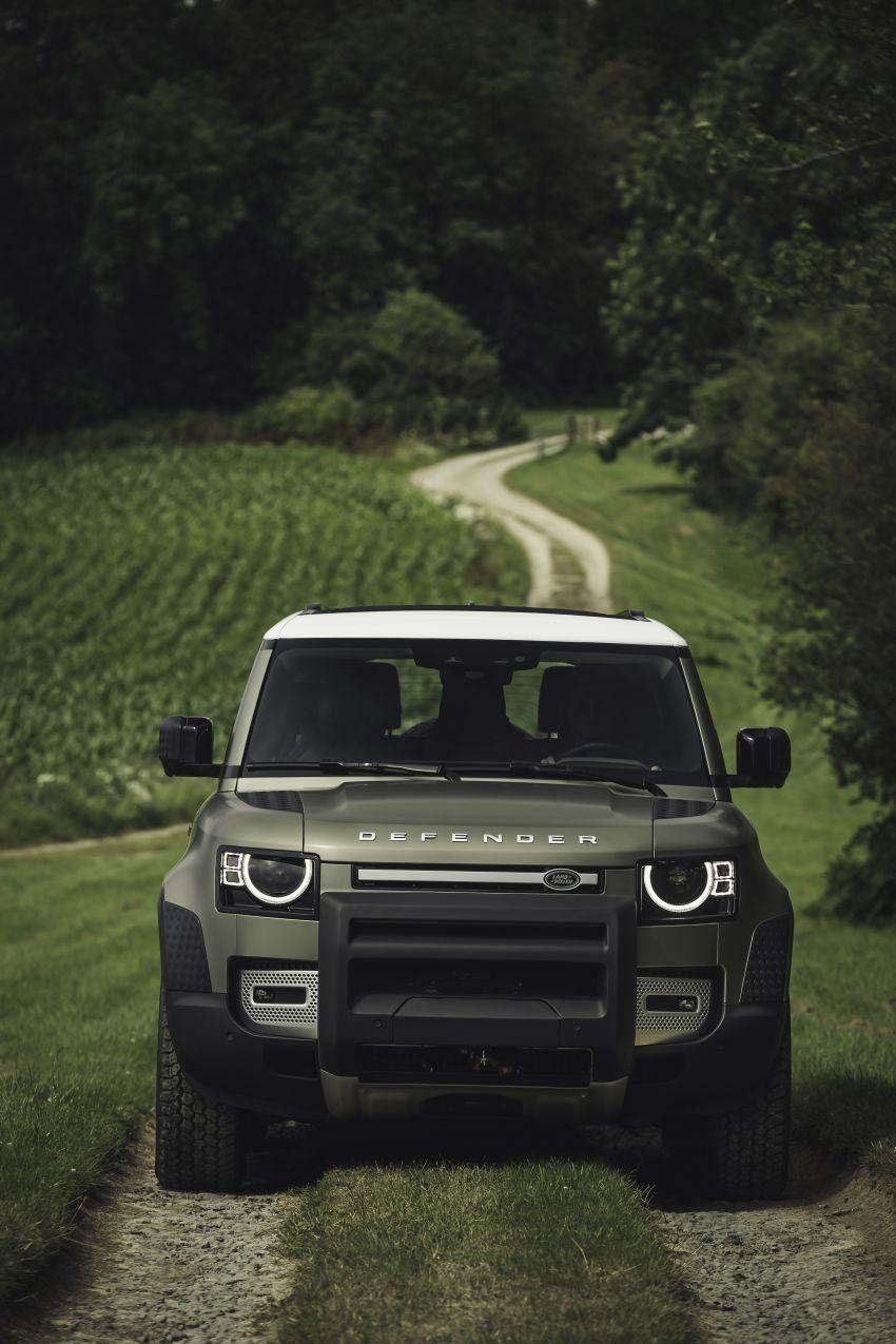 2020 Land Rover Defender debuts – aluminium monocoque, 3.0L mild-hybrid, OTA software support Image #1013244