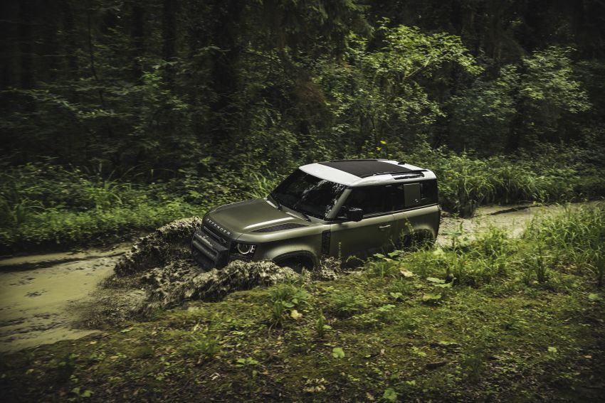 Land Rover Defender generasi baharu  muncul di Frankfurt 2019 – padat dengan segala teknologi terkini Image #1013534