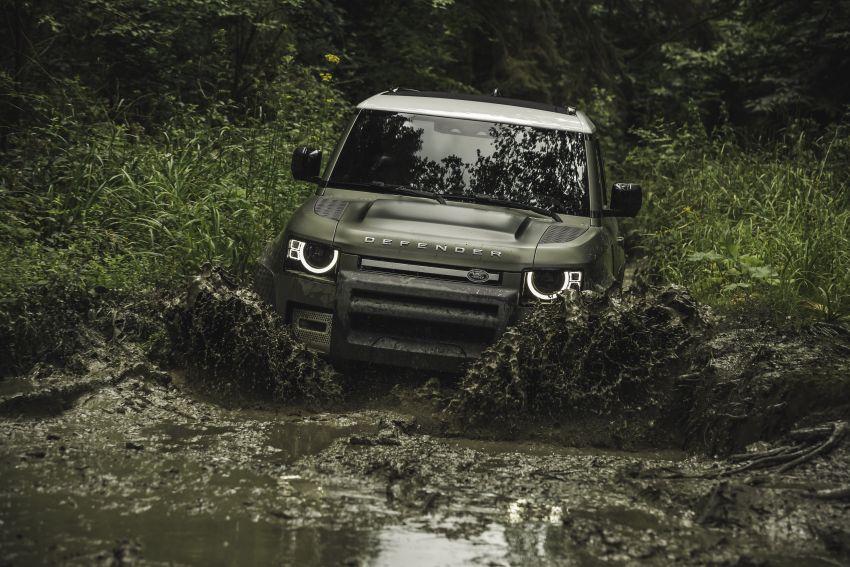 2020 Land Rover Defender debuts – aluminium monocoque, 3.0L mild-hybrid, OTA software support Image #1013247