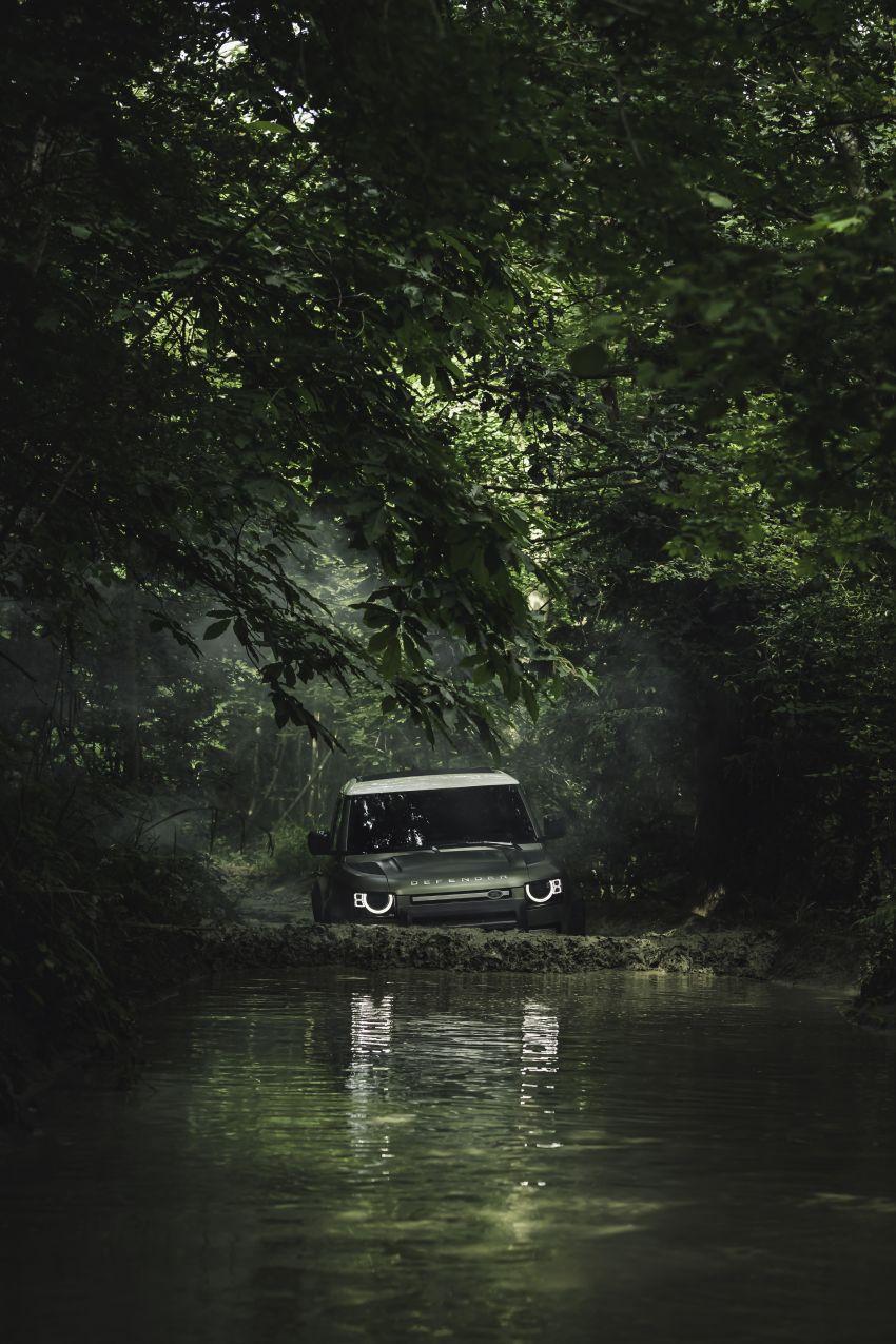 2020 Land Rover Defender debuts – aluminium monocoque, 3.0L mild-hybrid, OTA software support Image #1013248
