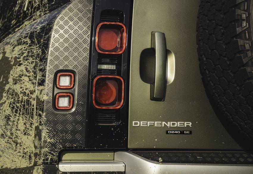 2020 Land Rover Defender debuts – aluminium monocoque, 3.0L mild-hybrid, OTA software support Image #1013260