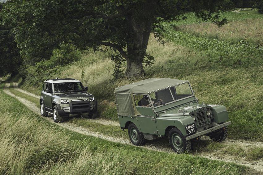 2020 Land Rover Defender debuts – aluminium monocoque, 3.0L mild-hybrid, OTA software support Image #1013262