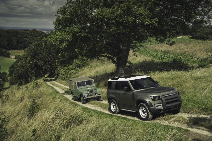 2020 Land Rover Defender debuts – aluminium monocoque, 3.0L mild-hybrid, OTA software support Image #1013264