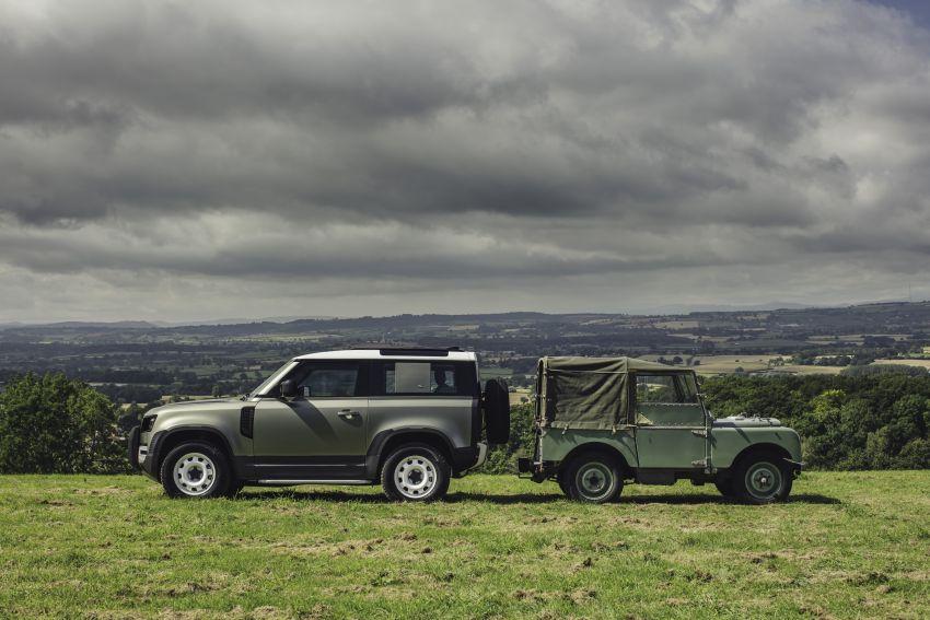 2020 Land Rover Defender debuts – aluminium monocoque, 3.0L mild-hybrid, OTA software support Image #1013265