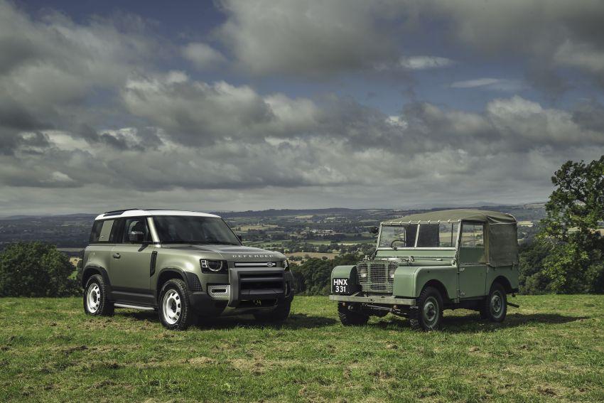 2020 Land Rover Defender debuts – aluminium monocoque, 3.0L mild-hybrid, OTA software support Image #1013266