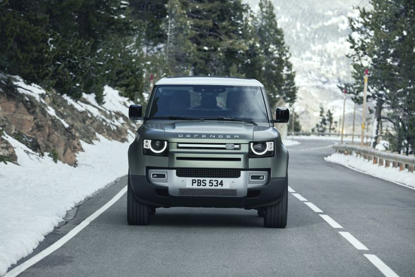 2020 Land Rover Defender debuts – aluminium monocoque, 3.0L mild-hybrid, OTA software support Image #1013267
