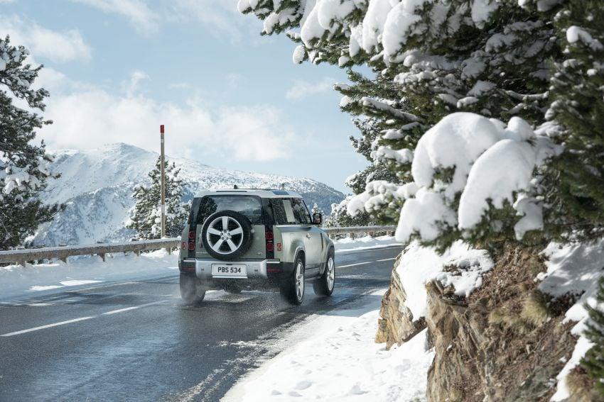 2020 Land Rover Defender debuts – aluminium monocoque, 3.0L mild-hybrid, OTA software support Image #1013268