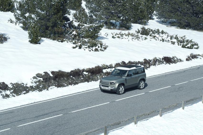 2020 Land Rover Defender debuts – aluminium monocoque, 3.0L mild-hybrid, OTA software support Image #1013271