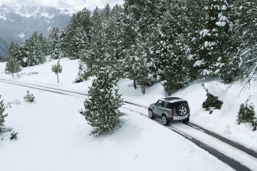 2020 Land Rover Defender debuts – aluminium monocoque, 3.0L mild-hybrid, OTA software support Image #1013272