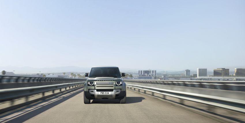 2020 Land Rover Defender debuts – aluminium monocoque, 3.0L mild-hybrid, OTA software support Image #1013273