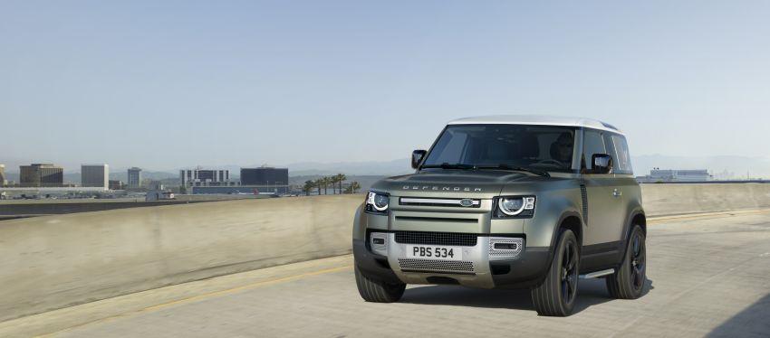 2020 Land Rover Defender debuts – aluminium monocoque, 3.0L mild-hybrid, OTA software support Image #1013274
