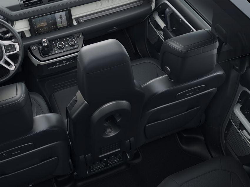 2020 Land Rover Defender debuts – aluminium monocoque, 3.0L mild-hybrid, OTA software support Image #1013280