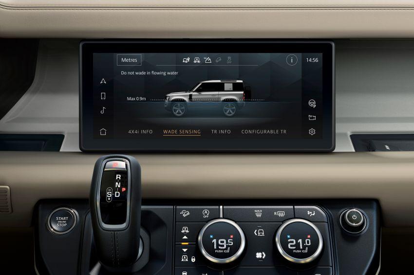 2020 Land Rover Defender debuts – aluminium monocoque, 3.0L mild-hybrid, OTA software support Image #1013290