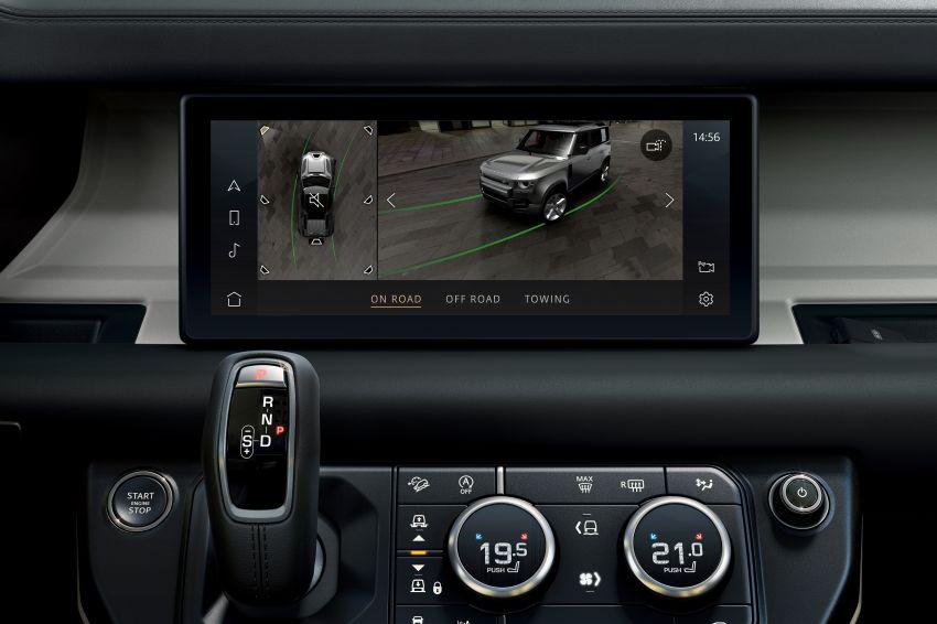 2020 Land Rover Defender debuts – aluminium monocoque, 3.0L mild-hybrid, OTA software support Image #1013291
