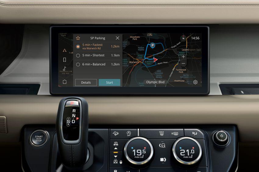 2020 Land Rover Defender debuts – aluminium monocoque, 3.0L mild-hybrid, OTA software support Image #1013292