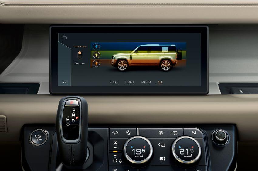 2020 Land Rover Defender debuts – aluminium monocoque, 3.0L mild-hybrid, OTA software support Image #1013293