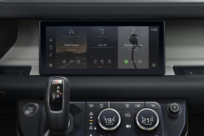 Land Rover Defender generasi baharu  muncul di Frankfurt 2019 – padat dengan segala teknologi terkini Image #1013941