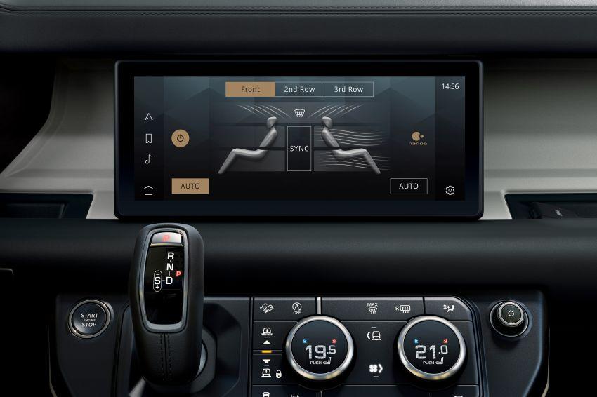 2020 Land Rover Defender debuts – aluminium monocoque, 3.0L mild-hybrid, OTA software support Image #1013295