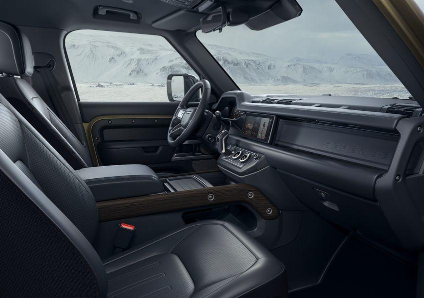 2020 Land Rover Defender debuts – aluminium monocoque, 3.0L mild-hybrid, OTA software support Image #1013281