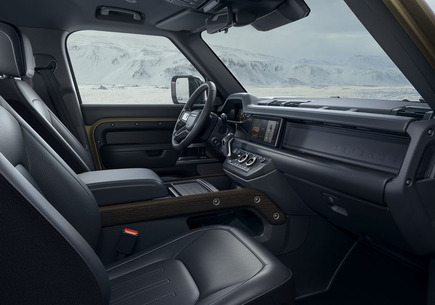 Land Rover Defender generasi baharu  muncul di Frankfurt 2019 – padat dengan segala teknologi terkini Image #1014087