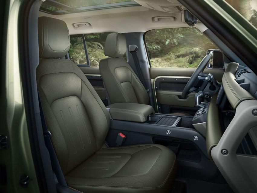 2020 Land Rover Defender debuts – aluminium monocoque, 3.0L mild-hybrid, OTA software support Image #1013282