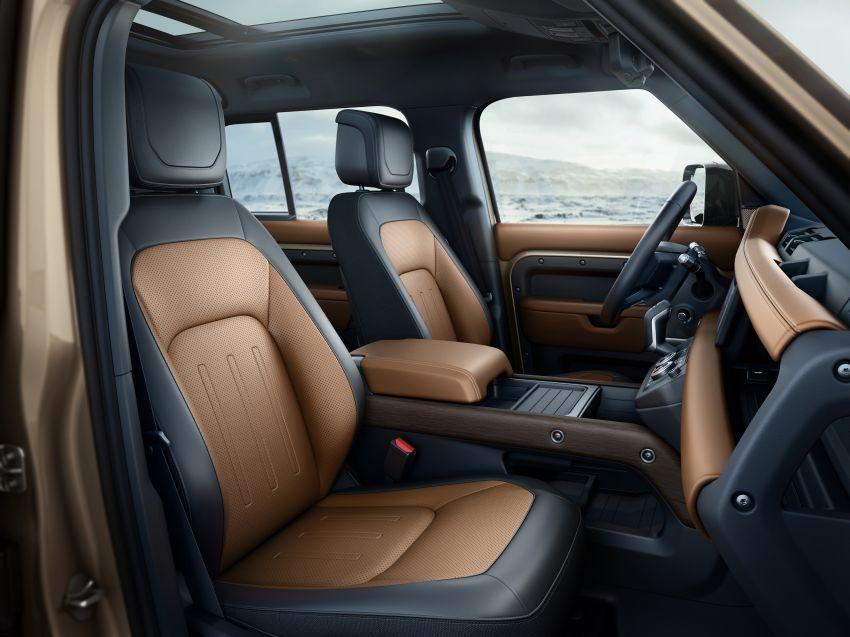 2020 Land Rover Defender debuts – aluminium monocoque, 3.0L mild-hybrid, OTA software support Image #1013283