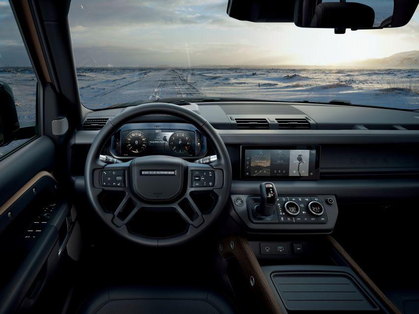 2020 Land Rover Defender debuts – aluminium monocoque, 3.0L mild-hybrid, OTA software support Image #1013284