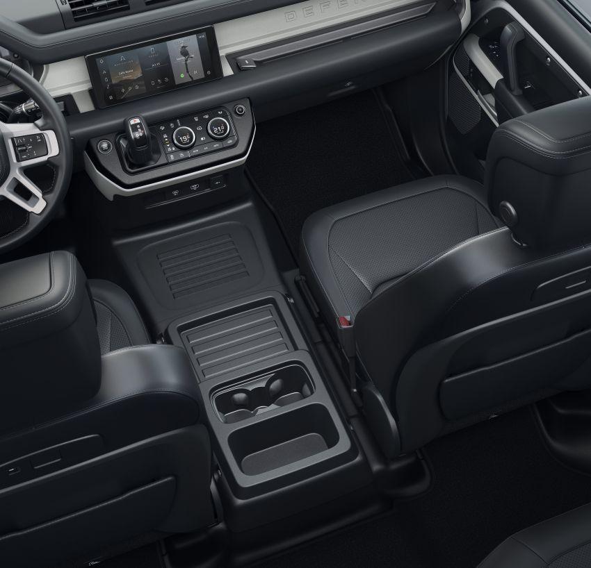 2020 Land Rover Defender debuts – aluminium monocoque, 3.0L mild-hybrid, OTA software support Image #1013285