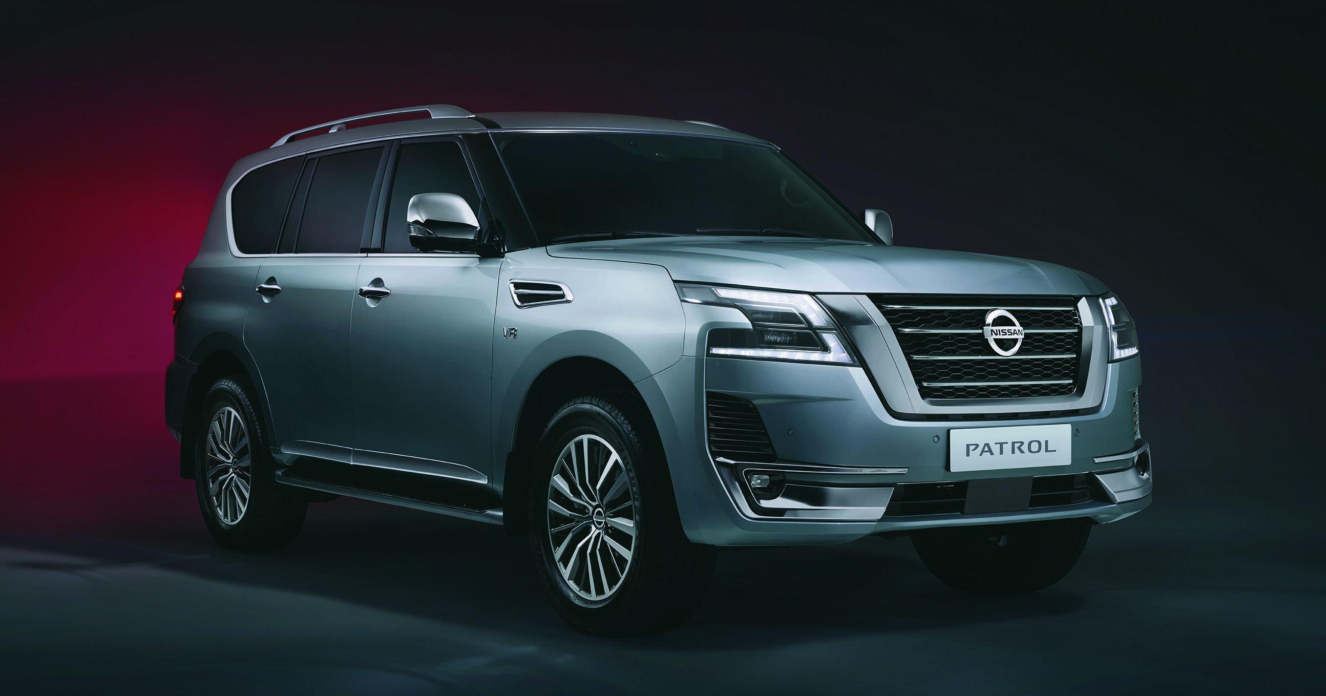 2020 Nissan Patrol Facelift 4 0l V6 And 5 6l V8 Carplay Android Aeb Hydraulic Body Motion Control Paultan Org