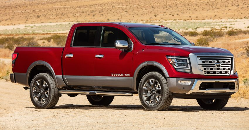 2020 Nissan Titan revealed with updated styling, kit Image #1021833