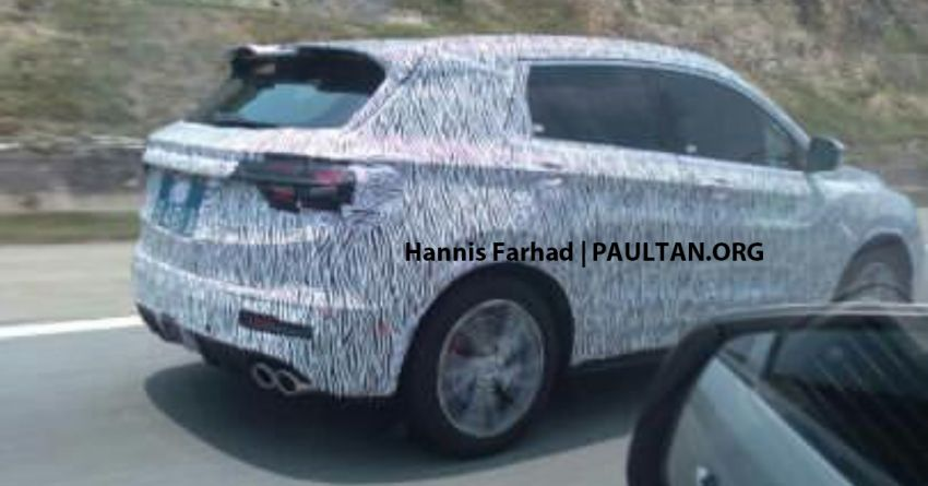 SPIED: Geely Binyue, Proton X50 seen testing on LPT Image #1010529