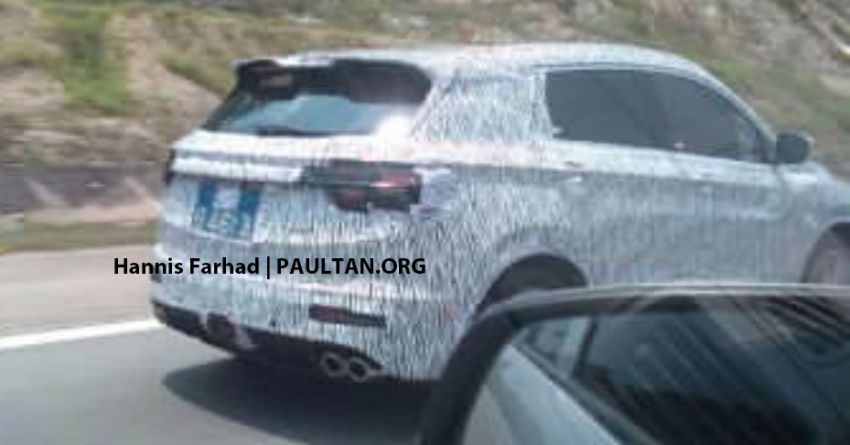 SPIED: Geely Binyue, Proton X50 seen testing on LPT Image #1010530