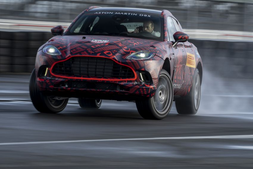 Aston Martin DBX SUV gets 550 PS Mercedes-AMG V8 Image #1020860