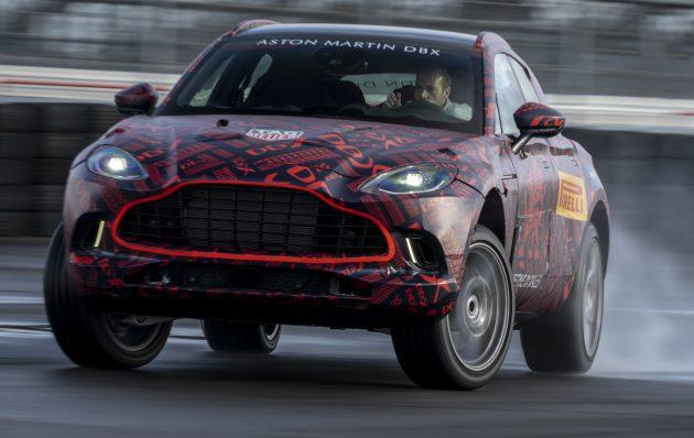 Aston Martin Dbx Suv Gets 550 Ps Mercedes Amg V8 Automotobuzz Com