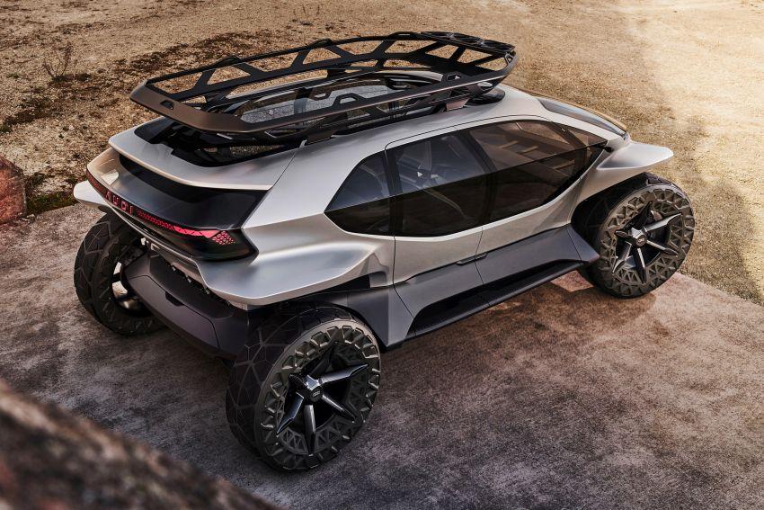 Audi AI:Trail quattro concept – off-road EV previewed Image #1013924