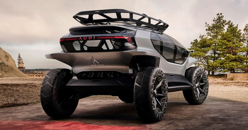Audi AI:Trail quattro concept – off-road EV previewed Image #1013926