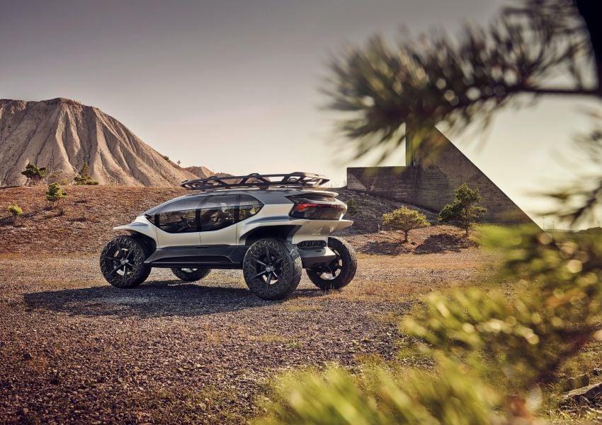 Audi AI:Trail quattro concept – off-road EV previewed Image #1013932