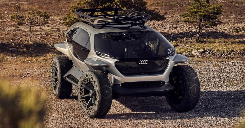 Audi AI:Trail quattro concept – off-road EV previewed Image #1013934