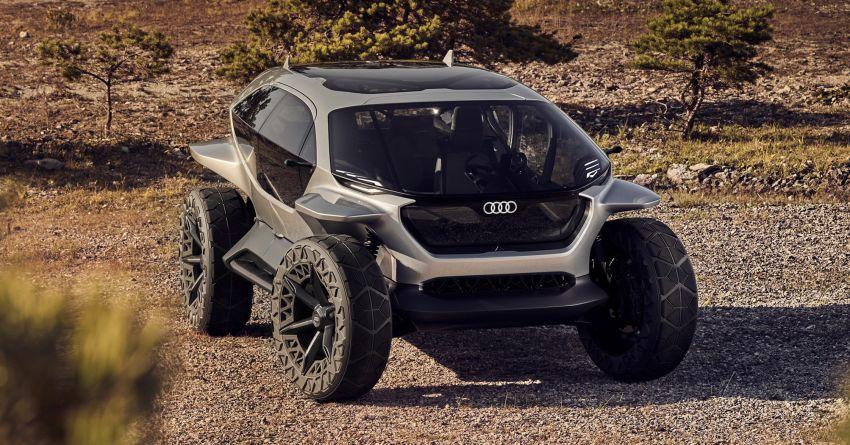 Audi AI:Trail quattro concept – off-road EV previewed Image #1013936