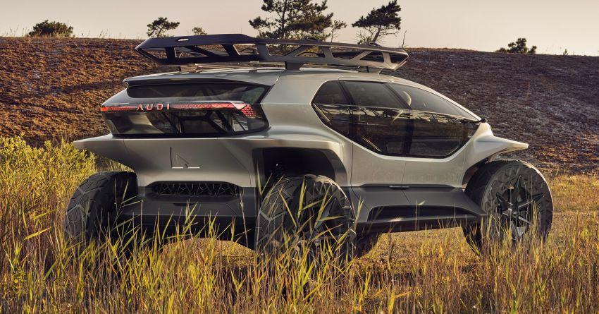 Audi AI:Trail quattro concept – off-road EV previewed Image #1013937