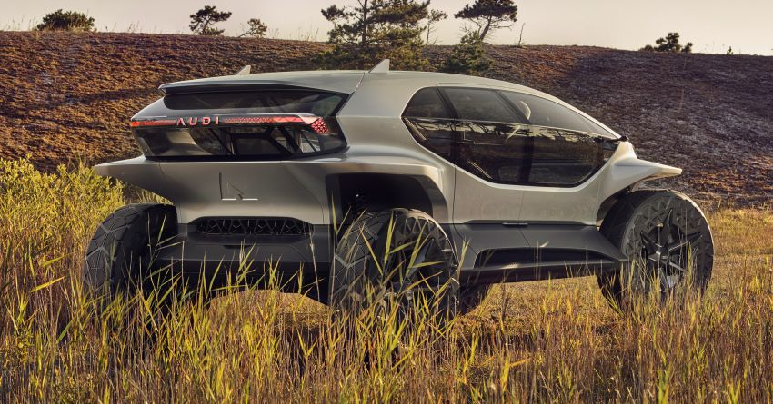 Audi AI:Trail quattro concept – off-road EV previewed Image #1013939