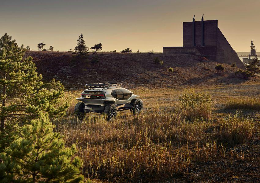 Audi AI:Trail quattro concept – off-road EV previewed Image #1013940