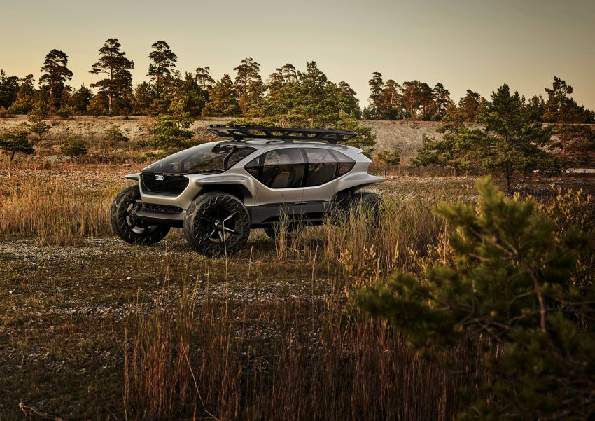 Audi AI:Trail quattro concept – off-road EV previewed Image #1013945