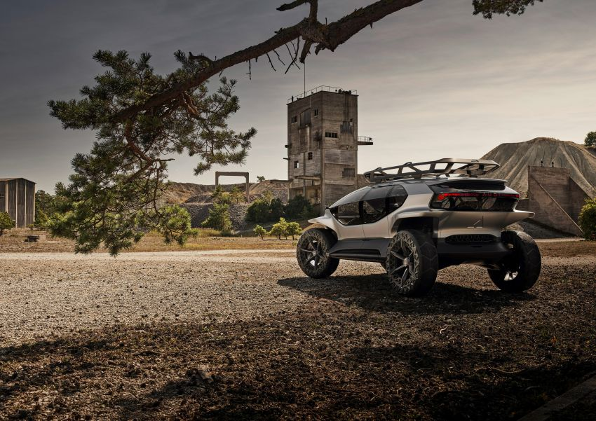Audi AI:Trail quattro concept – off-road EV previewed Image #1013949