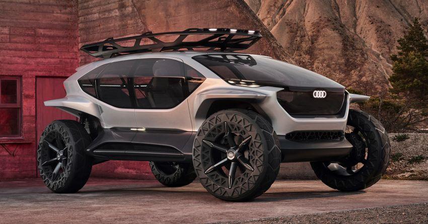 Audi AI:Trail quattro concept – off-road EV previewed Image #1013919